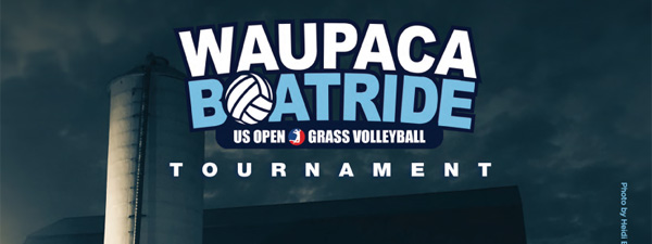 Waupaca Boatride Volleyball Tournament - 2016 Event Poster