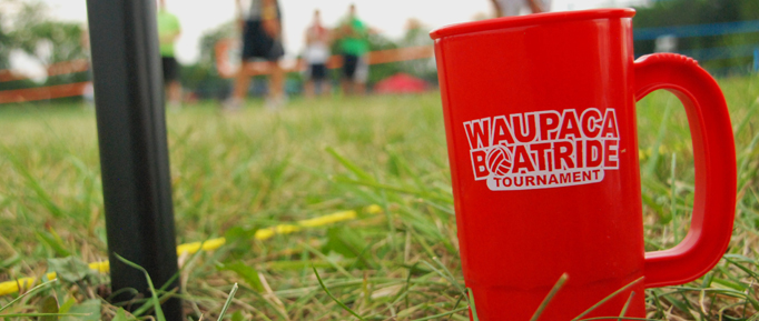 Waupaca Boatride Volleyball Tournament - 2011 Cup in Grass